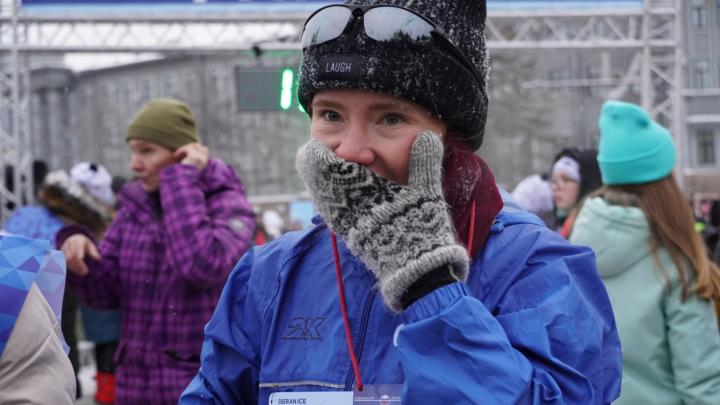 Омичка и житель Ханты-Мансийска получили 25 тысяч за победу в Рождественском полумарафоне