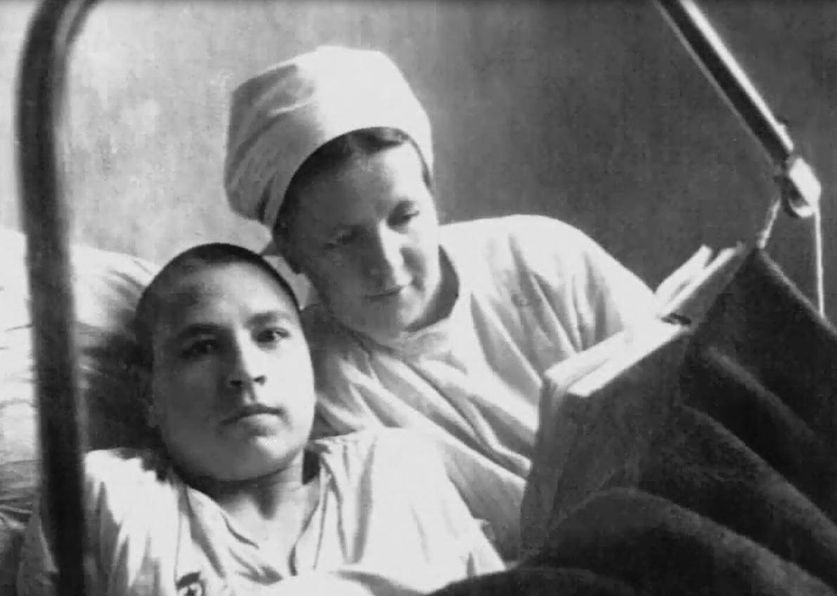 С1939 по 1945 год больница приняла 90 тысяч пациентов