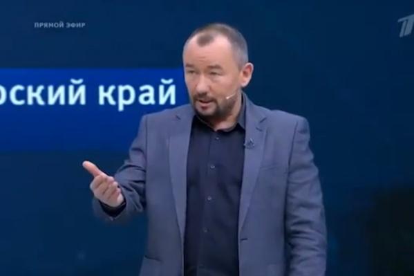 В прямом эфире «Первого канала» Шейнин посоветовал губернатору съездить в Вознесенку