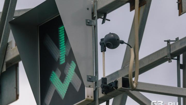 В Самаре на Московском шоссе возможны сбои в работе светофоров