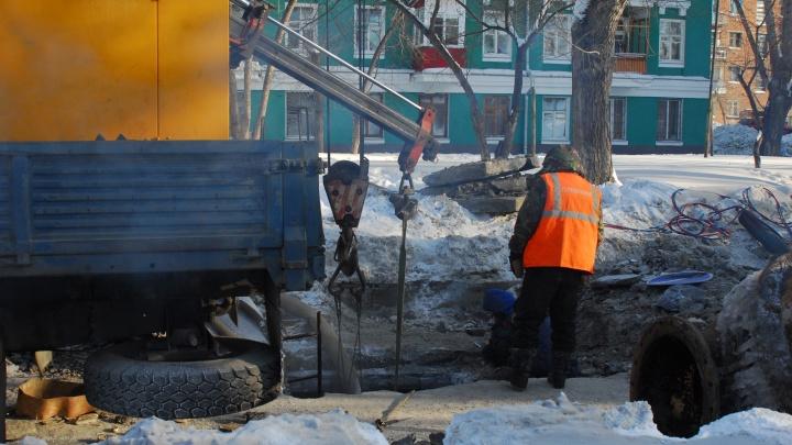Перекрёсток в Ленинском районе перекрыли на полтора месяца