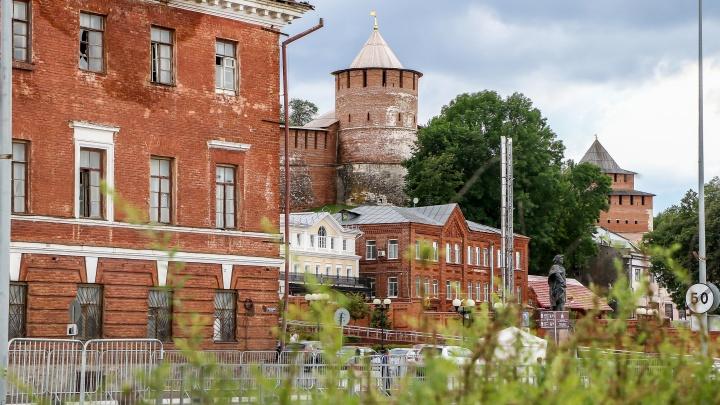 Фото дня. Краснокирпичный Нижний Новгород