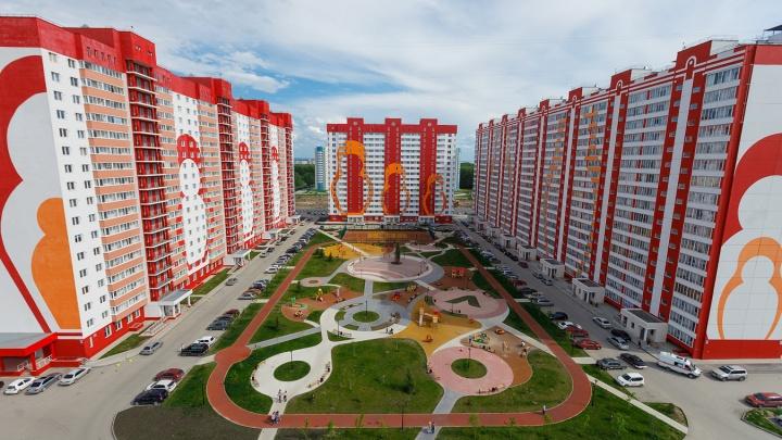 В ярком жилом комплексе на Петухова остались недорогие квартиры: скоро здесь откроется школа и садик