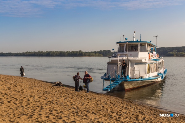 Остров Кудряш — это первая остановка теплохода, который три раза в неделю ходит до Седовой Заимки