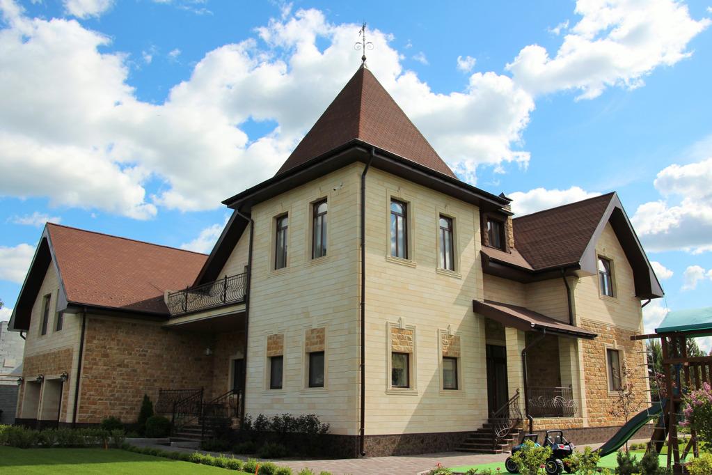 Общая площадь дома — 436 квадратных метров