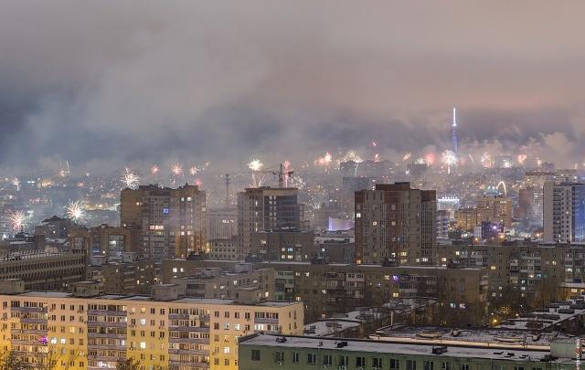 «Салют в каждом дворе»: показываем, как ростовчане встретили Новый год
