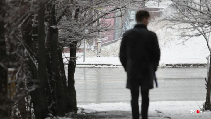 «Ночью возможна метель»: до Челябинска добрался снежный фронт
