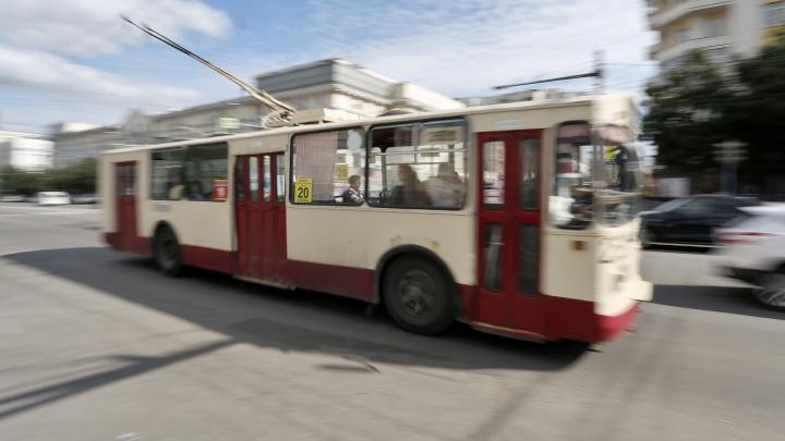 С пятницы в Челябинске изменят маршруты двух троллейбусов