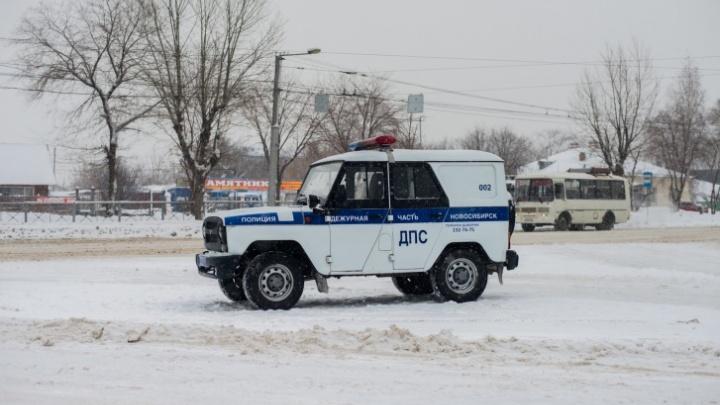 Нападение на полицейского в Новосибирской области: водитель ранил сотрудника ДПС ножом