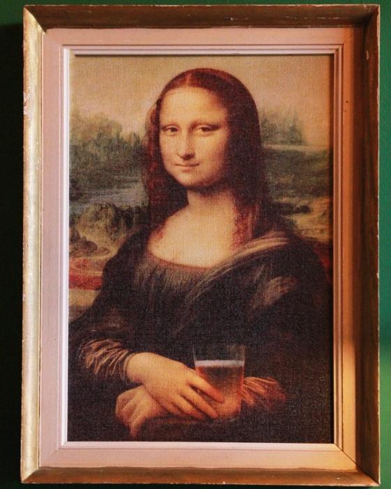 Как вам такая Мона Лиза?
