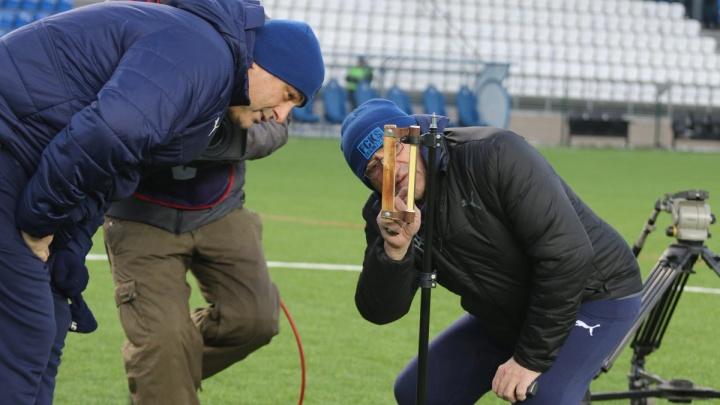 Матч «Крылья Советов» — «Оренбург» отменили из-за холодного поля