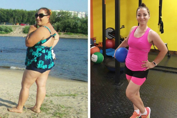 Наталья из Тюмени похудела на 47 кг за полтора года