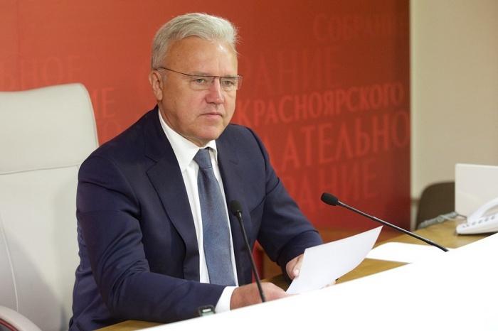 Полпред президента вСФО представил Усса вкачестве врио губернатора Красноярского края