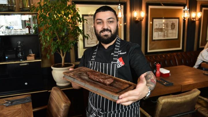 Кто кормит город: история шефа SteakHouse, который хотел быть актёром, а мама отправила на повара