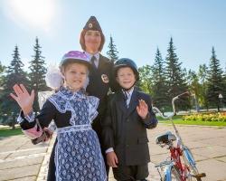 ŠKODA провела праздник для юных велосипедистов