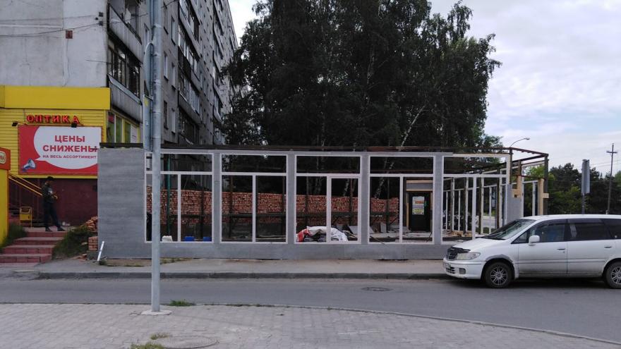 Чиновники нашли незаконную стройку у дома на «Шлюзе» и пожаловались в прокуратуру