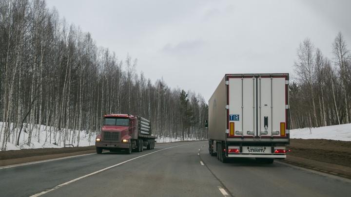 Водителям грузовиков вновь на месяц запрещают движение по Красноярску