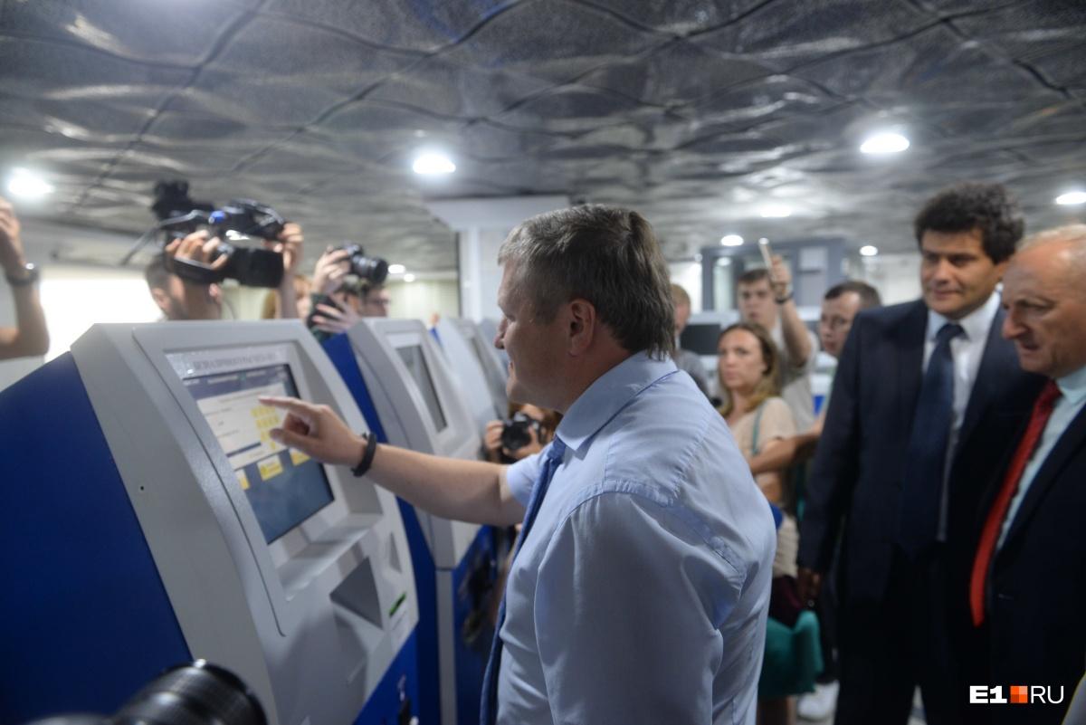 Первый билет на станции купилзамглавы по вопросам благоустройства, транспорта и экологии Алексей Бубнов