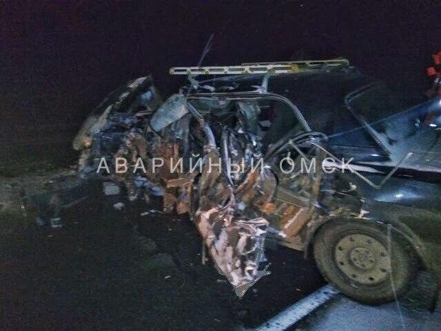 Натрассе вОмской области нетрезвый шофёр протаранил автобус