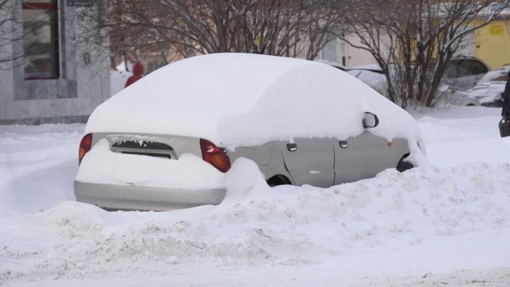 Готовьте лопаты: завтра Екатеринбург заметет снегом