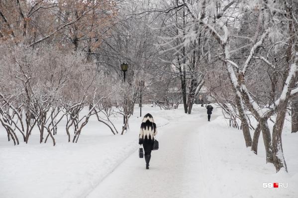 Большую часть недели в Перми будет холодно
