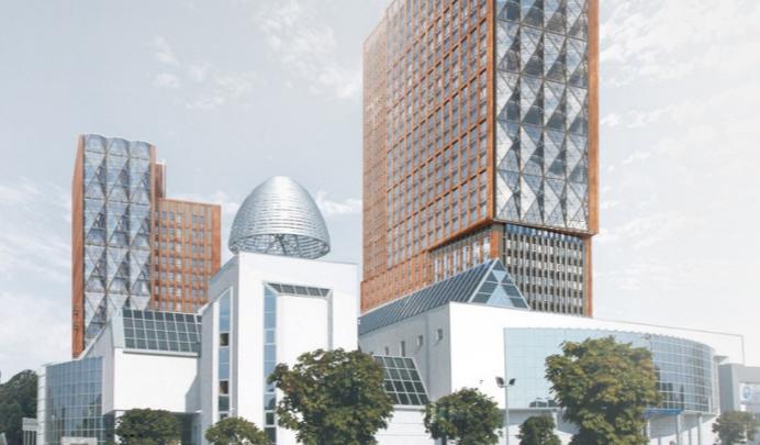 Когда точечную застройку нельзя, но очень хочется: в центре Уфы планируют возвести 32-этажку