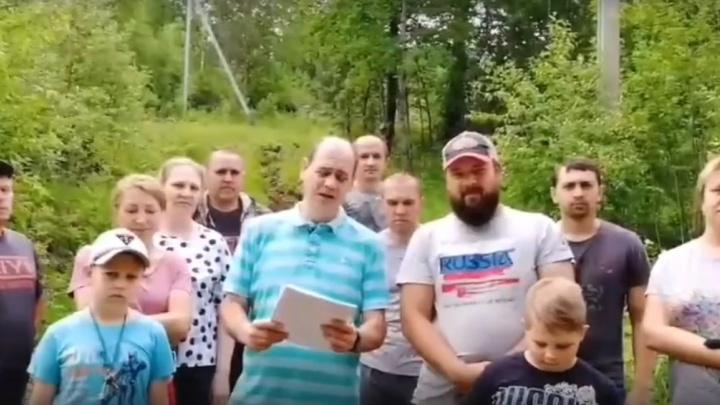 Жители Дивногорска записали обращение к Путину: они отрезаны от своих домов