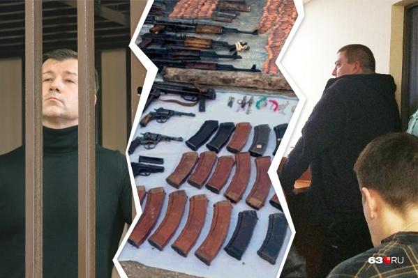 В числе «опекунов» бандитов следователи нашли высокопоставленных правоохранителей. Например, Дмитрия Сазонова (слева)