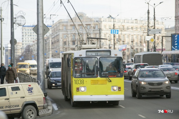 Троллейбусы будут ходить по изменённому маршруту