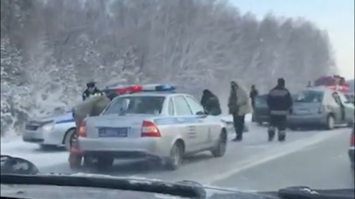 В аварии под Челябинском погибли две автомобилистки