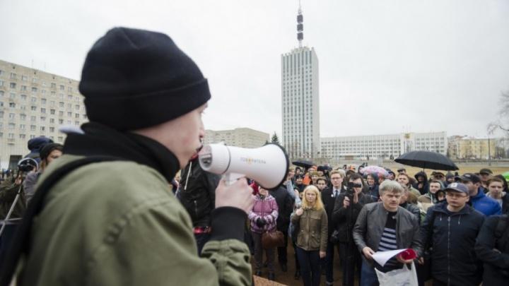 Октябрьский суд оштрафовал главу регионального штаба Навального на 15 тысяч рублей за майский митинг