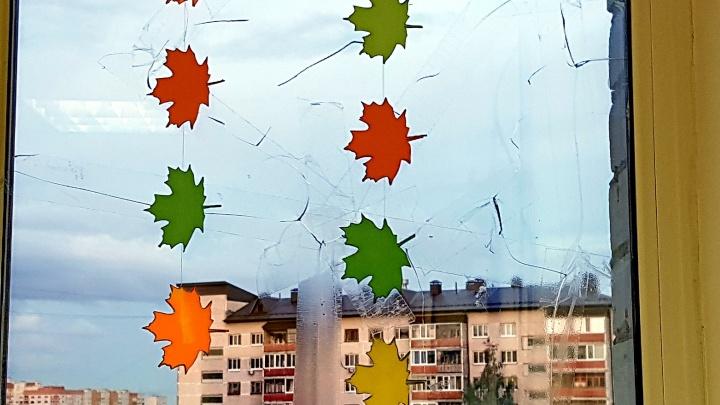 «Окно в трещинах, заклеено осенними листьями». Колонка отца о старых кабинетах в тюменских школах