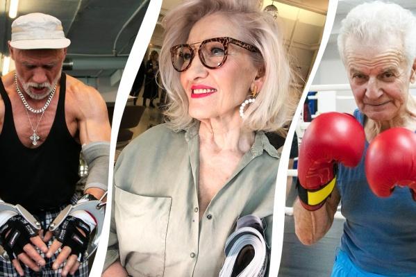 Стать супермоделью, когда тебе 70 с хвостиком, или в 82 года гонять молодежь по боксерскому рингу? Легко!
