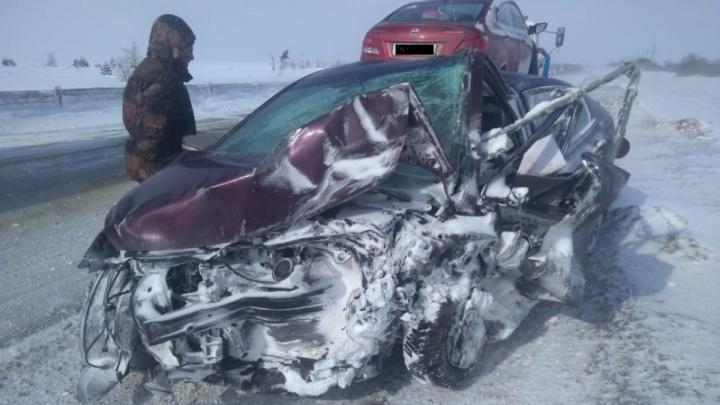 На трассе Р-228 в Волгоградской области в жутком ДТП пострадали семь человек. Один из них ребенок