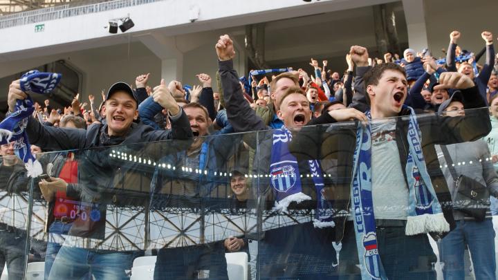 Эмоции били через край: год назад на «Волгоград Арене» прошел первый тестовый матч