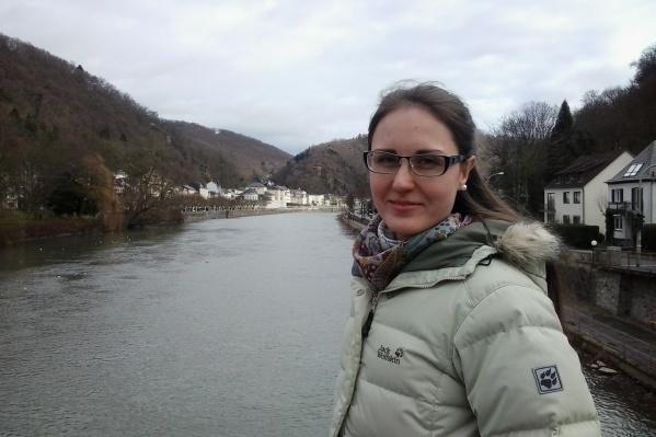Мария жила в Германии целый год