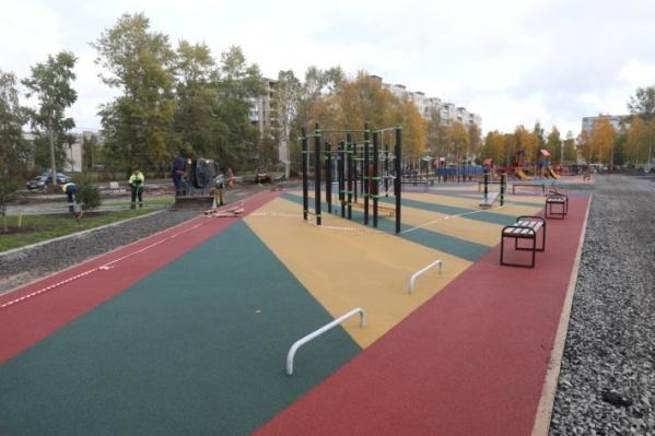 В прошлом году в Архангельске открыли парк «Зарусье» со спортивной площадкой. Название выбирали тоже народным голосованием
