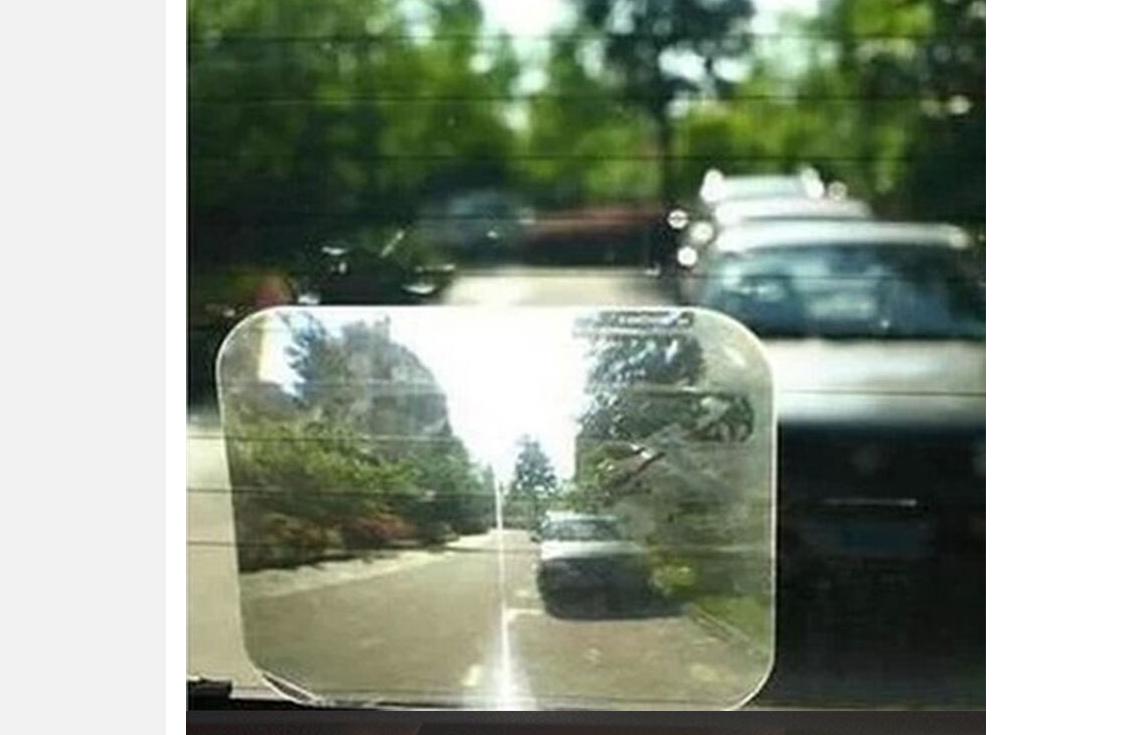 Линза на заднее стекло