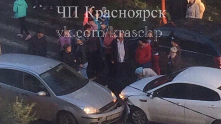 На пешеходном переходе по Московской сбит ребенок