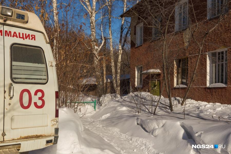 ВКрасноярске впериод движения скончался шофёр иномарки