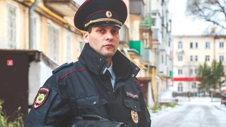В краевом конкурсе «Народный участковый» победил полицейский из Лысьвы