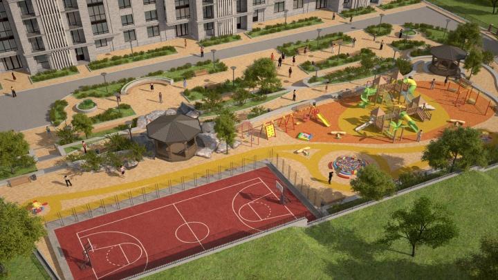 У Заельцовского парка строят жилой комплекс с просторными квартирами
