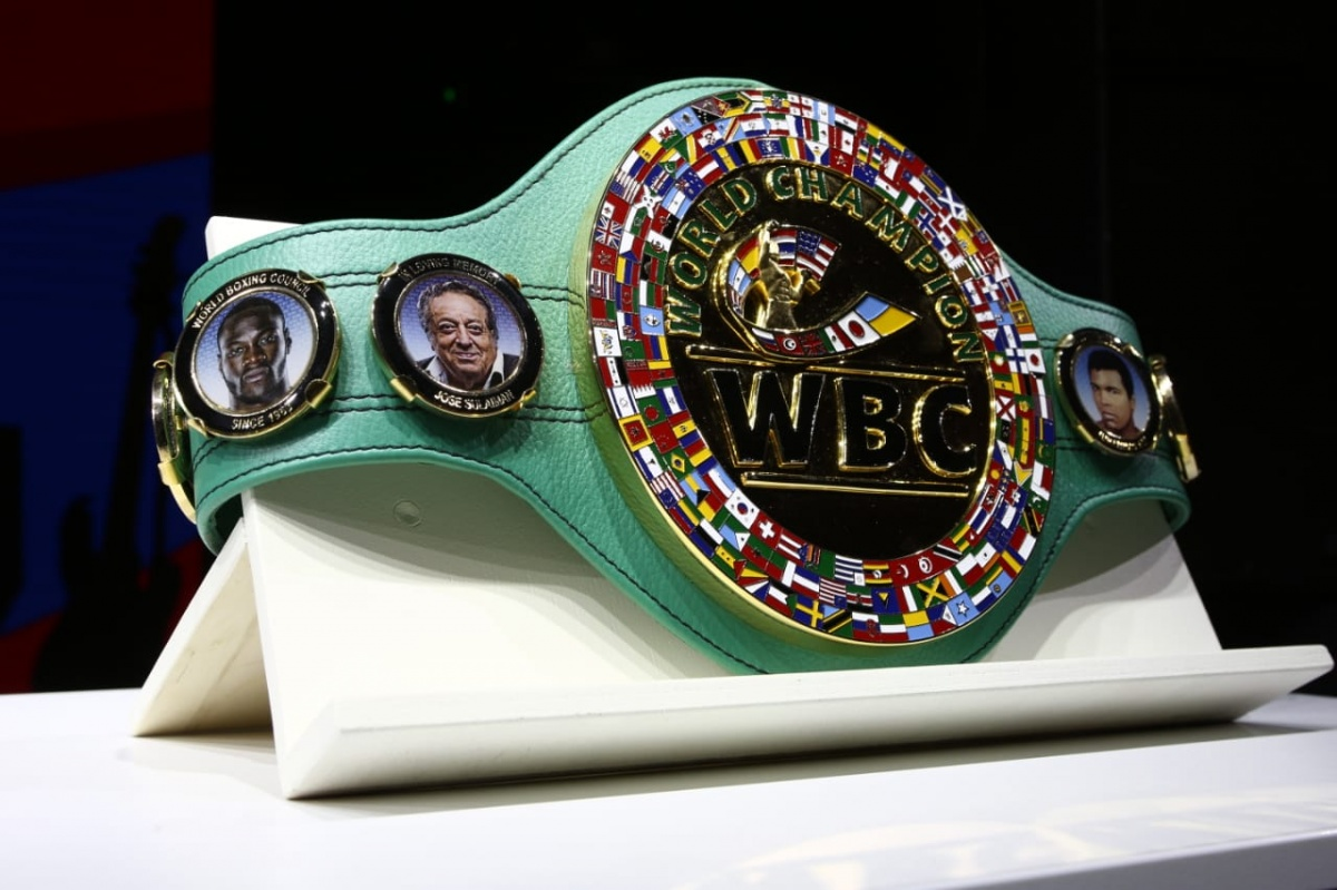 Один из лотов — чемпионский пояс WBC, который купили за полтора миллиона рублей
