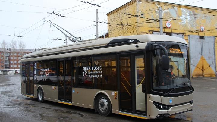 Электробус по имени Изабелла: как выглядит изнутри новый вид транспорта в Омске