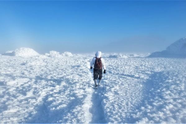 Эта фотография сделана наКосьвинском Камне — вершине рядом с горой, где погибла одна из пропавших туристок Елена Подкорытова
