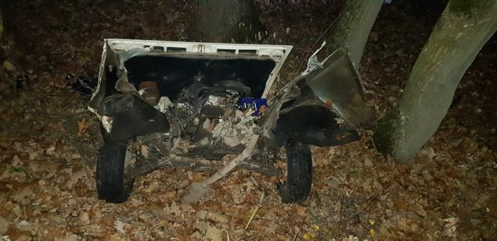Водитель и трое пассажиров погибли на месте