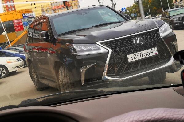 Внедорожник Lexus