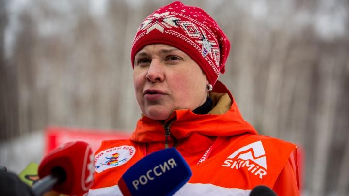Олимпийская чемпионка приехала в Новосибирск, чтобы провести массовую гонку имени себя