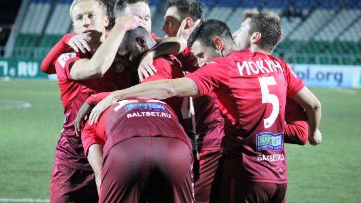 Уфимские футболисты закончили матч с ЦСКА вничью