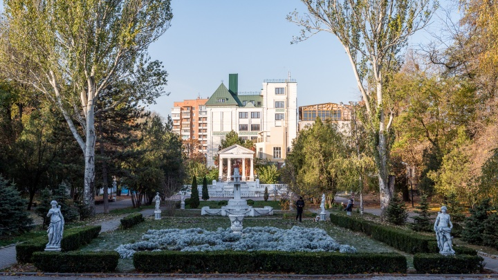 В Ростове парк Горького реконструируют к 2022 году